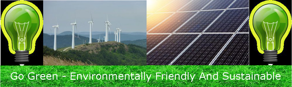 Go Green – Environmentally Friendly And Sustainable header image